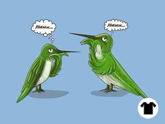 Hmmming Birds