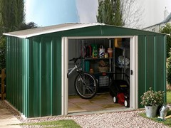 10' x 8'  Metal Storage Shed Kit