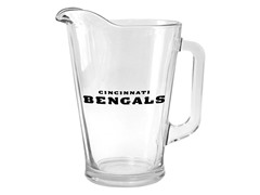 Bengals Glass Pitcher