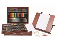 Art 101 206-Piece Wooden Case Art Set