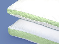 Wellrest Quilted Sidewall 2pk Pillow - Med