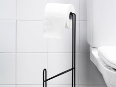 Vanderbilt Bronze Steel Toilet Paper Holder