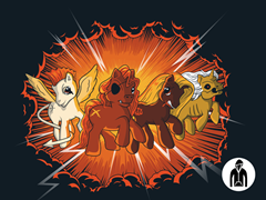 Four Little Ponies... Zip-Up Hoodie
