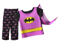 Batgirl 2-Piece Set & Cape (12M-4T)