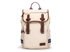 AVI-8 Canvas Backpack, White