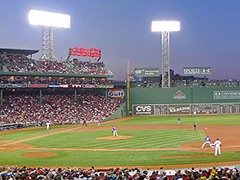 Fenway Park Red Sox vs. Rangers