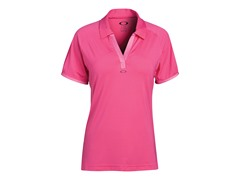 Short Sleeve Steep Polo - Fuchsia