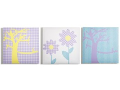 Pretty Nature Canvas (Set of 3)