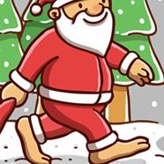 Bigfoot Santa