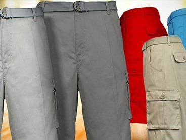 Cargo Belted Shorts