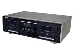Dual Stereo Cassette Deck w/ USB to MP3