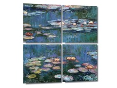 Water Lilies - Monet (2 Sizes)