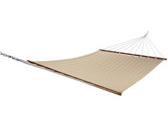Double Quilted Hammock, Solid Opal