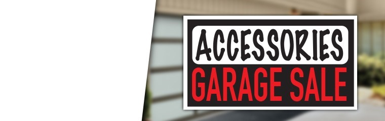 Accessories Garage Sale