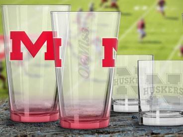 NCAA & NFL Glassware