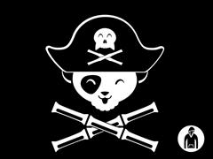 Panda Pirate PO Hoodie