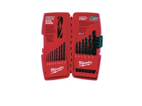Milwaukee 15pc Black Oxide Drill Bit Set