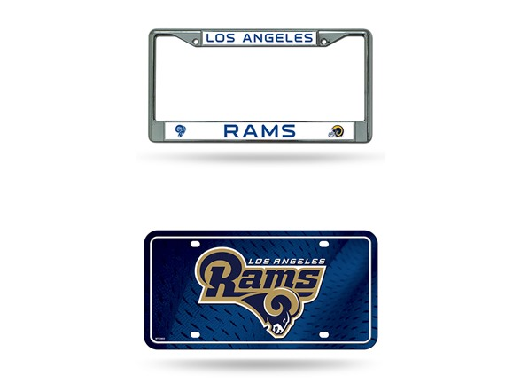 Nfl License Plate Frame Auto Tag Combos
