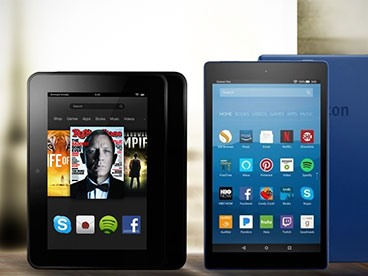 Amazon Fire Tablets & Kindle E-Readers