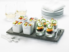 17-Piece Tasting Set with Lava Tray