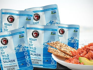 Sea Bear Ready-to-Eat Sockeye Salmon (6)