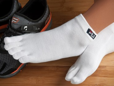 2-Packs of Fila Five-Toe Socks