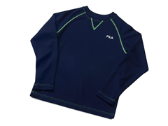 Navy Thermal Top