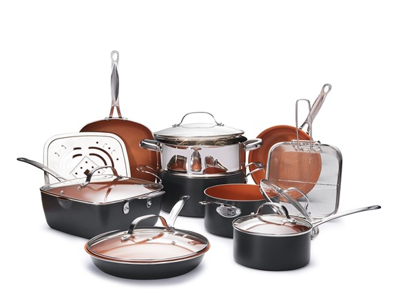 Gotham Steel Ultimate 15 Pc Cookware Set