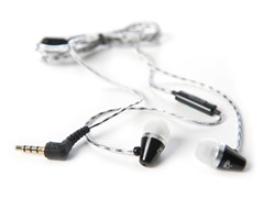 Sound-Isolating In-Ear Headphones w/ Mic