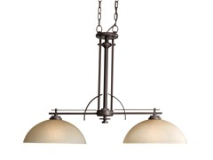 Riverside Linear Chandelier, Heirloom