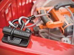 Master Lock Truck Bed U-Lock, Black