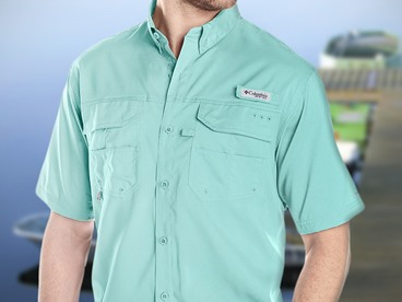 Columbia Men's Fishing Shirts and Polos