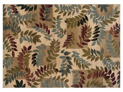 Greyson Floral Boarder Rug (Multiple Sizes)
