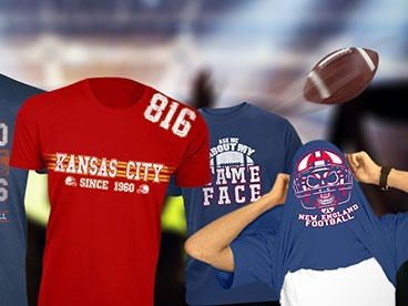 Men's Football Tees