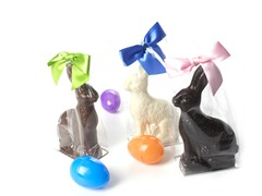 Candy Basket Chocolate Bunny 3-Pack