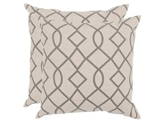 Margie Pillows-Grey-Set of 2