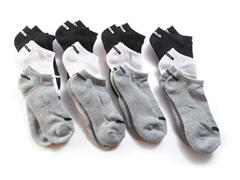 Low Cut Socks - 12 Pair - Assorted