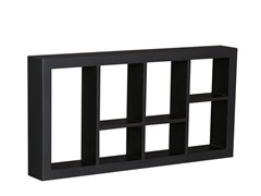 "Taylor 24"" Display Shelf Black"