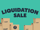 Liquidation Sale at Woot