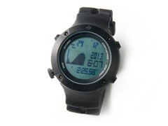 Tidewater Black Digital Tide Watch