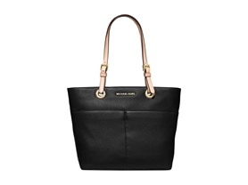 Michael Kors Bedford Top Zip Pocket Tote - Black