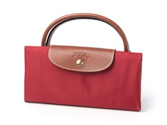 Longchamp Le Pliage Travel Bag, Red