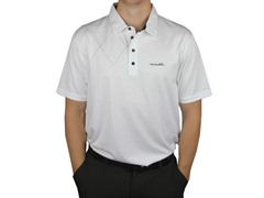 Travis Mathew Men's B Biggs Polo - White