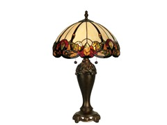 16 X 27 Northlake Tiffany Table Lamp