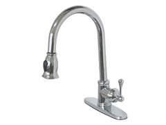 Pull-Down Kitchen Faucet, Chrome