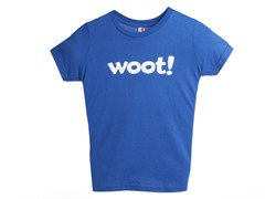 Woot! Kids' T-Shirt - Royal Blue