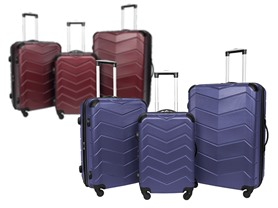 Sharper Image 3 PC Luggage Set(4 Colors)