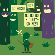 The Lost Woods Are Jerks!
