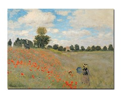 Claude Monet Wild Poppies Near Argenteuil