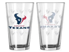 Texans Pint Glass 2-Pack
